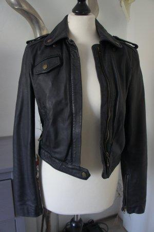 CURRENT ELLIOTTLederjacke Größe 1 34 Jacke Leder