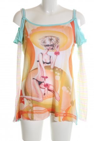 Custo Barcelona Carmen shirt prints met een thema casual uitstraling