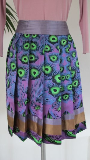 Custo Barcelona Silk Skirt multicolored silk