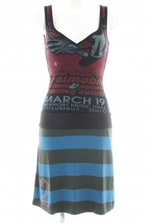 Custo Barcelona Jerseykleid abstraktes Muster Casual-Look