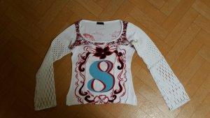 Custo Barcelona Langarm Shirt mit auffälligem Print