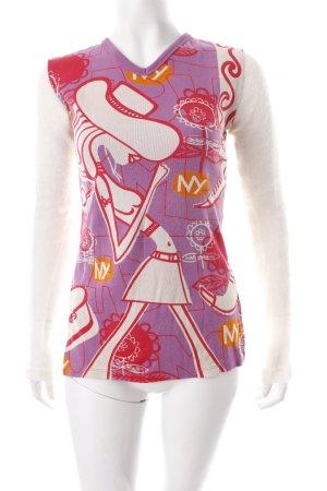 Custo Barcelona Longsleeve Motivdruck 90ies-Stil