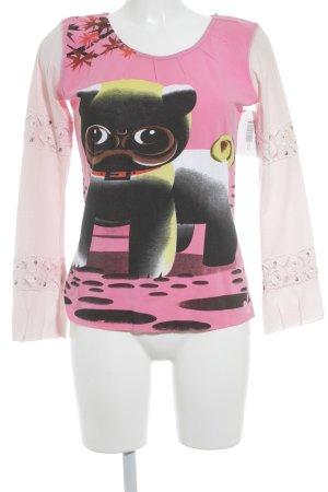 Custo Barcelona Print-Shirt mehrfarbig extravaganter Stil