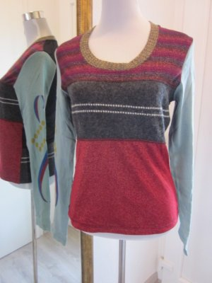 Custo Barcelona Pullover leicht Bunt Gr 40