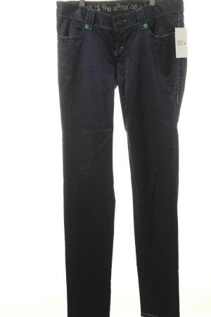 Custo Barcelona Stretch Jeans dunkelblau Casual-Look