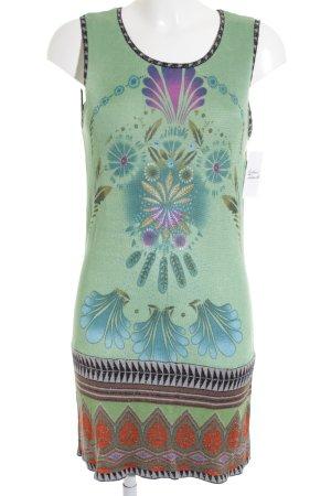 Custo Strickkleid florales Muster klassischer Stil