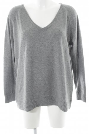 "Custommade Cashmere Jumper ""Irna"" grey"