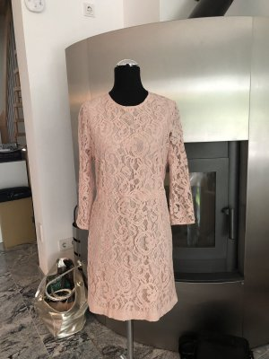 Custommade Lace Dress pink
