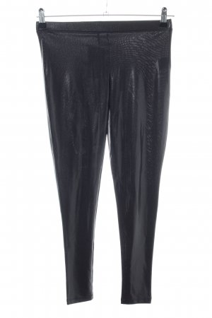 Custommade Leggings black wet-look