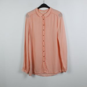 Custommade Silk Blouse apricot silk