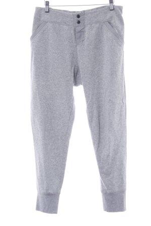 Custommade Pantalón deportivo gris claro reluciente
