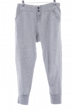 Custommade Pantalon de jogging gris clair scintillant