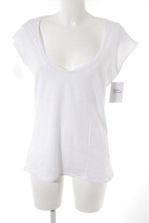 Custommade T-Shirt weiß Casual-Look