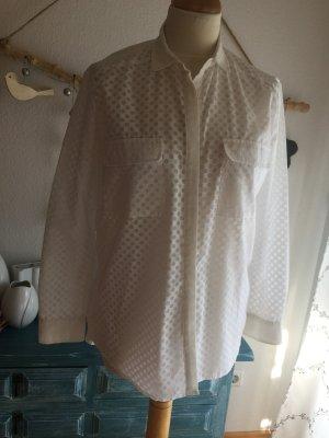 Custommade Blusa tipo kimono blanco