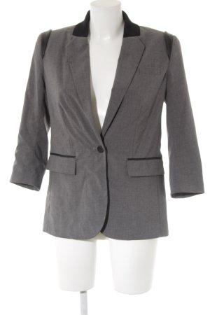 Cut 25 Short Blazer black-grey business style