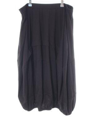 Cut Loose Flared Skirt black casual look