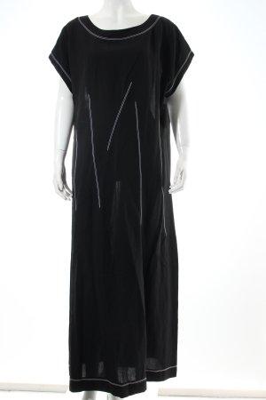 Cut Loose Maxikleid schwarz-weiß extravaganter Stil