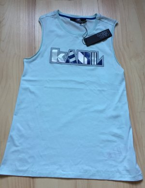 Cut off Tee future retro Karl Lagerfeld T-Shirt Tanktop Gr.S neu