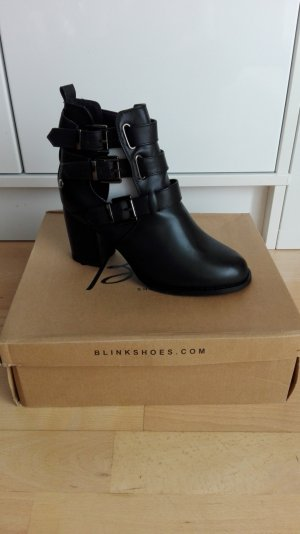 Blink Cut Out Booties black