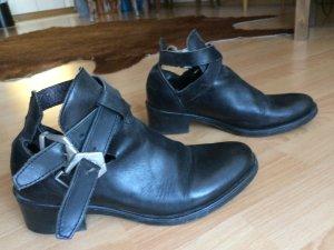 Cut-Out Boots Leder Größe 37