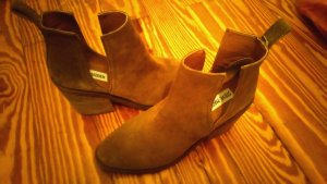Steve Madden Cut Out Booties brown