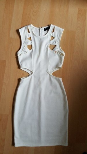 Nasty Gal Cut Out Dress multicolored