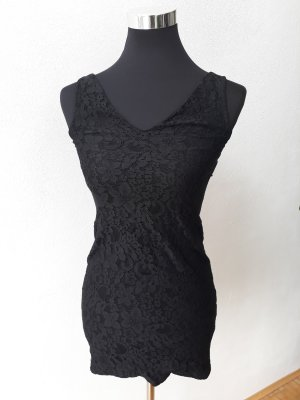Cut-Out Dress Schwarz Mini Topshop Gr. S