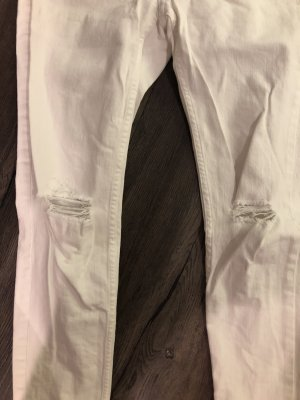 H&M Vaquero pitillo blanco