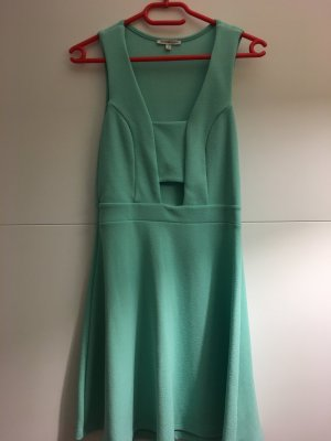 Charlotte Russe Abito cut out turchese