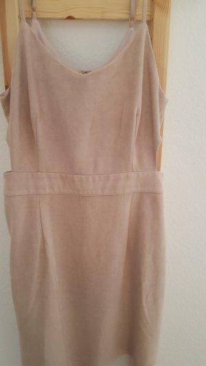 Forever 21 Robe découpée rose chair-beige clair