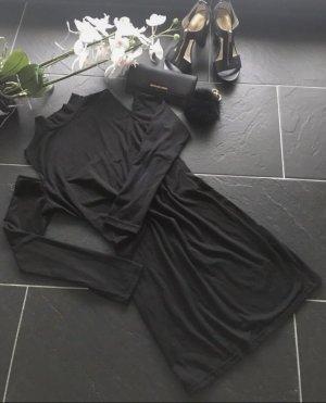 Sheinside Cut Out Dress black