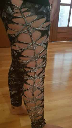 Legging veelkleurig