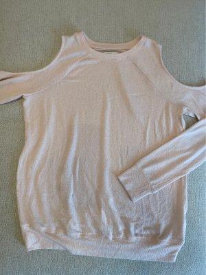 Cut out shoulders Langarmshirt