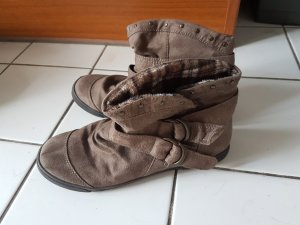 cute brown ankleboots