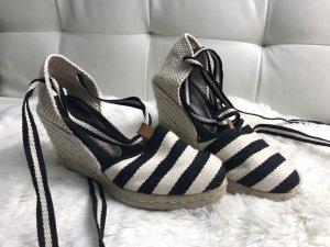 Cute Couture Clog Sandals white-black