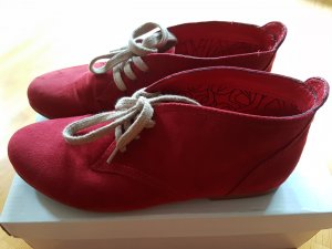 cute red shoes for a Little red riding hood