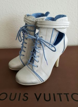 cutout lace-up Stiefelette highttop hight heel Sneaker