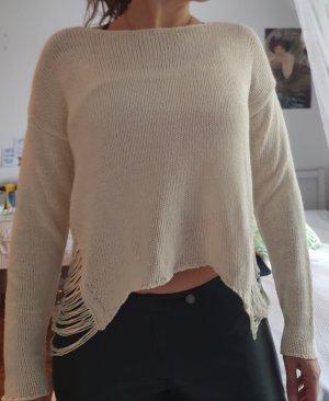 H&M Robe pull blanc