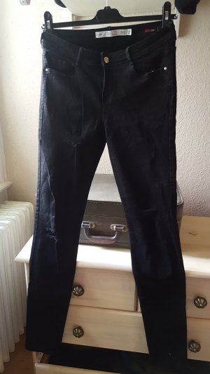 cutted skinny Jeans mit Rissen