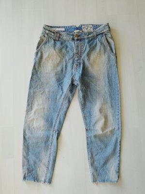 Cycle Baggy Jeans 7/8 Crop Denim used look