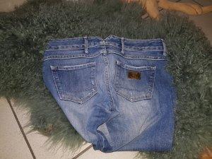 Cycle Drainpipe Trousers blue-dark blue