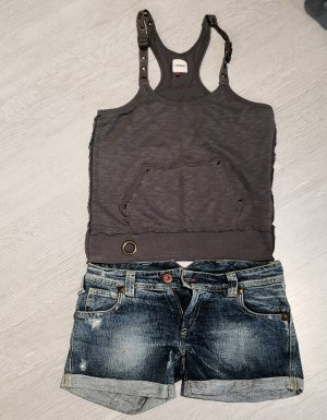 Cycle Jeans shorts gr. 26, Oberteil gr. S