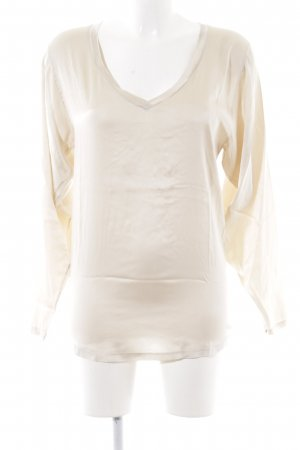 Cycle Long Sleeve Blouse cream-natural white simple style