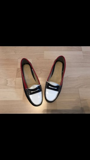 Cypres Patent Leather Ballerinas multicolored