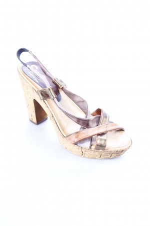 Cypres Platform High-Heeled Sandal light brown-bronze-colored party style