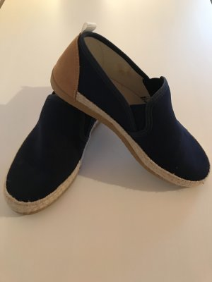 Cypres Slip-on Shoes dark blue-brown