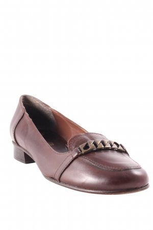 Cyrillus Ballerinas braun Business-Look