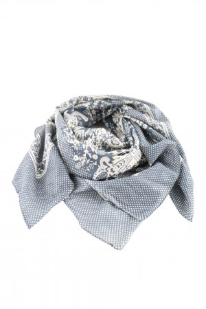 Cyrillus Neckerchief blue-white graphic pattern elegant