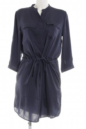 Cyrillus Shirtwaist dress black-blue elegant
