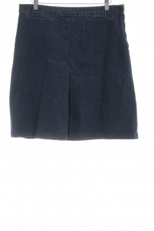 Cyrillus Denim Skirt dark blue jeans look